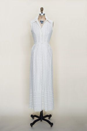 1960s vintage wedding dress from Dalena Vintage