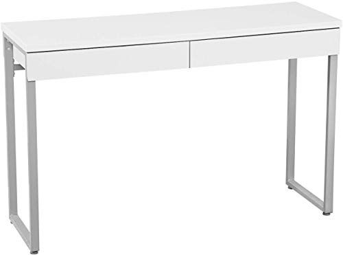 Amazing Offer On Greenforest 47 Console Table White Small Desk 2