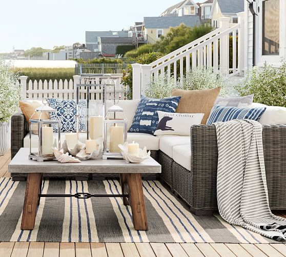 Sectional All Outdoor Lounge Seating Pottery Barn Used Outdoor Furniture Best Outdoor Furniture Outdoor Furniture