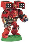 Blood Angel Terminator with Cyclone Missile Launcher