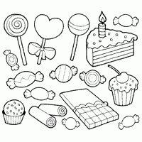Sweets Coloring Pages Wenn Du Mal Buch Kostenlose Ausmalbilder