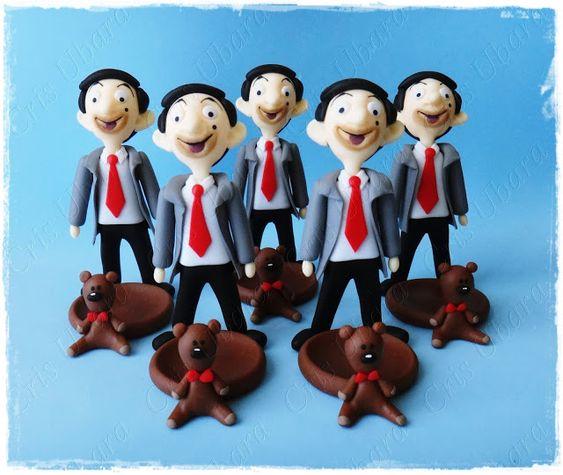 Cris Ubara - Biscuit para festas: Para uma festinha Mr Bean