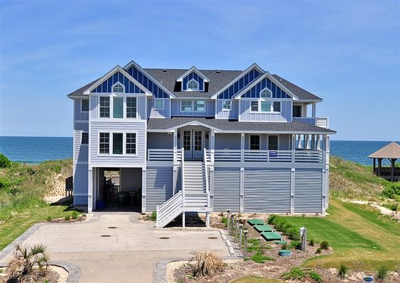 Twiddy Outer Banks Vacation Home Sea La Vie Corolla Oceanfront 10 Bedrooms Travel