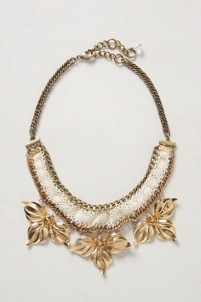 Gaura Bib Necklace