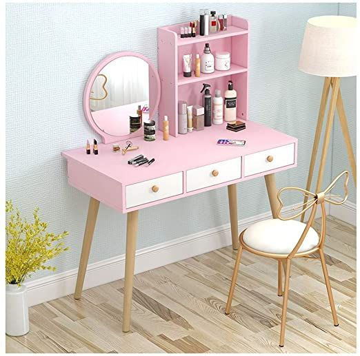 Xxg Vanity Dressing Table Set Makeup Vanity Table Bedroom Dresser Set With Dressing Stool Dr Dressing Table Vanity Bedroom Dressing Table Dressing Table Colour