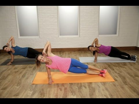 Hope my abs won't be too sore tomorrow! 30-Minute Flat Belly Workout   Class FitSugar