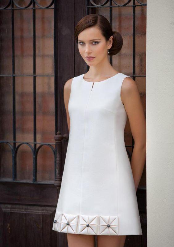 Платье casual трапеция короткое