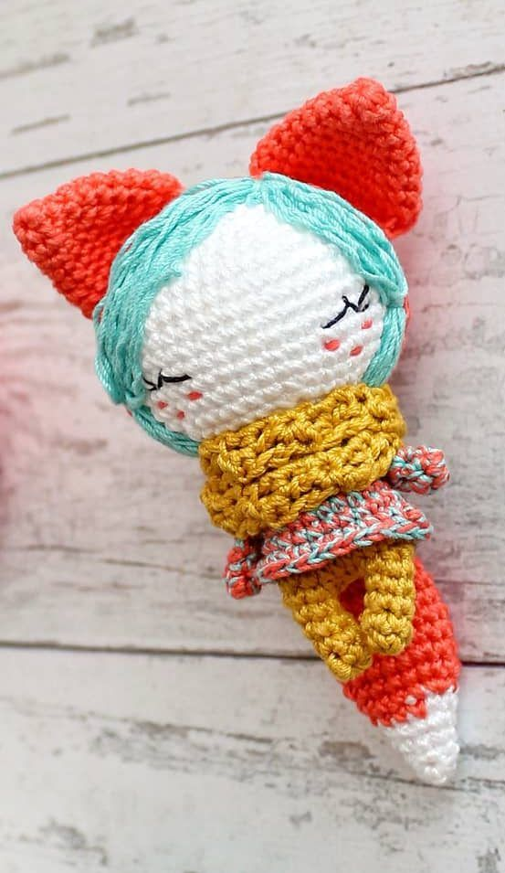 Crochet Toy Avocado Pattern - Red Ted Art - Make crafting with ... | 955x553