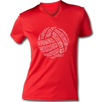 A great, comfortable fitting volleyball performance tee to wear under your equipment or while you are working out. Wicks moisture away to ke...