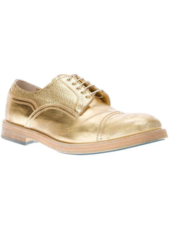 Acne - Gold Bowling Shoe | gold bowling shoe | Pinterest | Bowling ...