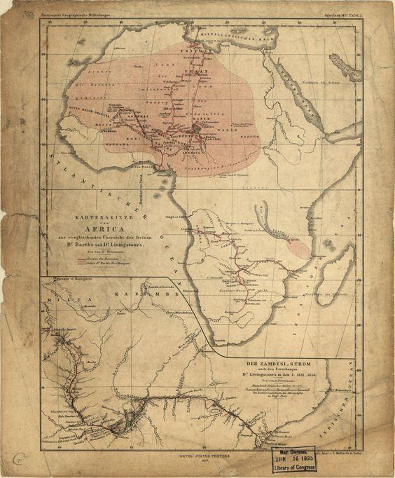 The journey, Livingstone and Africa on Pinterest - dr livingstone i presume furniture