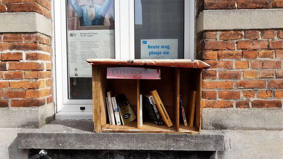Boekenruilkastje Gentbrugge