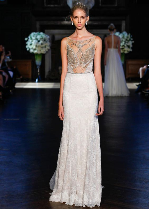You've Got to See Alon Livne's Embroidered Wedding Dresses for Fall 2016 | fabmood.com: