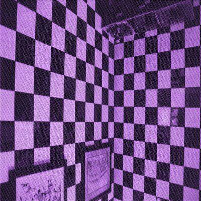 East Urban Home Geometric Purple Black Area Rug In 2021 Black And Purple Wallpaper Dark Purple Aesthetic Purple Wallpaper Iphone