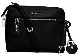 Zoey Medium Leather Messenger | Michael Kors