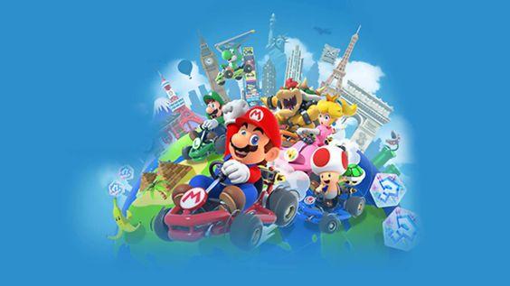 Nintendo News Nintendoreporters Mario Kart Iphone Games Piano Games