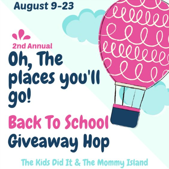 Oh, The Places You'll Go! Giveaway Hop (INTL)