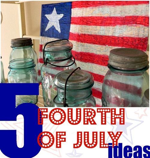 Five 4th of July Project Ideas - Mad in Crafts