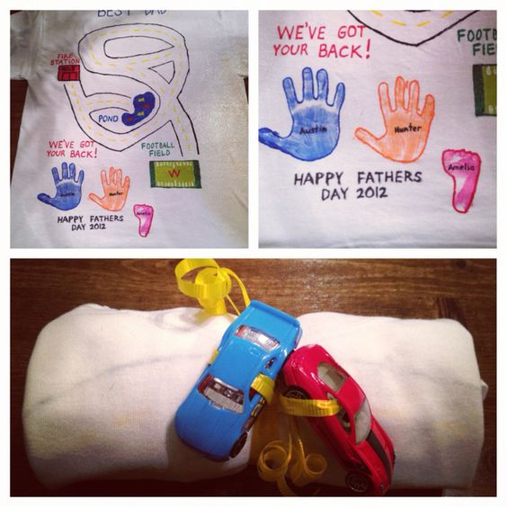 father's day ribbon craft
