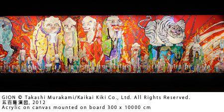 中東初の村上隆展、ドーハで開催中|世界を旅するアート・インフォメーション|CREA WEB(クレア ウェブ)