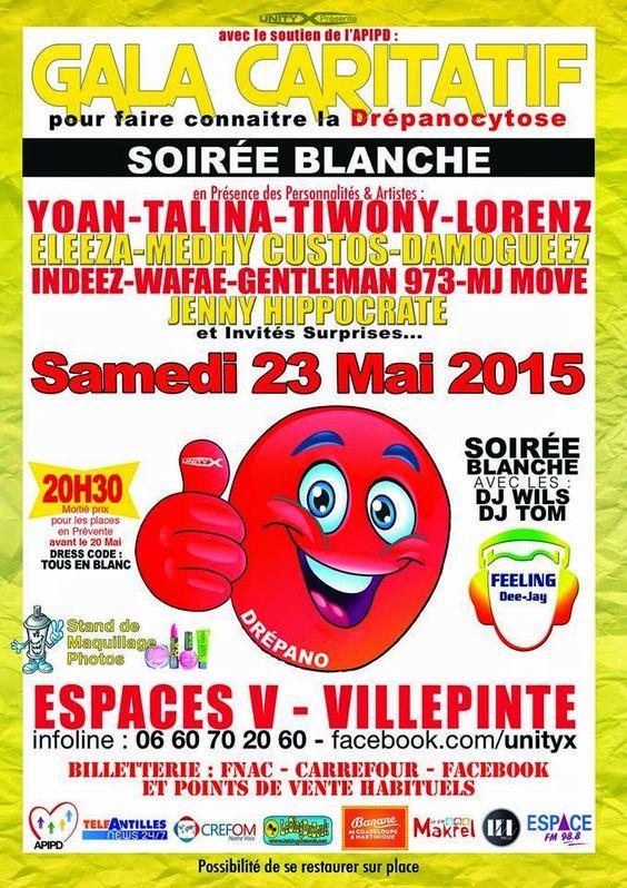 Medhy Custos Fan Club Officiel: Samedi 23 mai 2015 - Gala Caritatif pour faire…