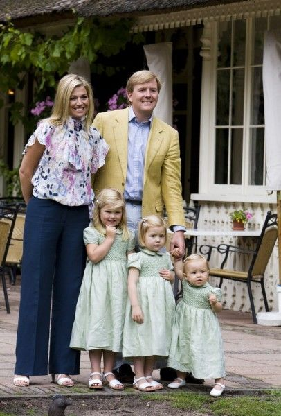 maxima and her family