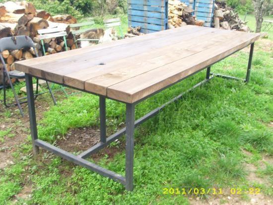 Table D Exterieur En Bois Table Exterieur Bois Table Exterieur Exterieur