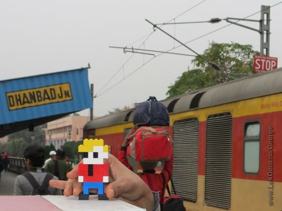 LEGO Life of Georgeat Dhanbad Junction