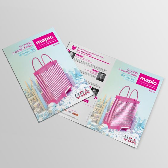 Bi-fold Brochure Print