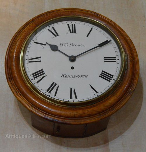 An English Fusee Dial Clock Clock Antique Wall Clocks Antique Wall Clock