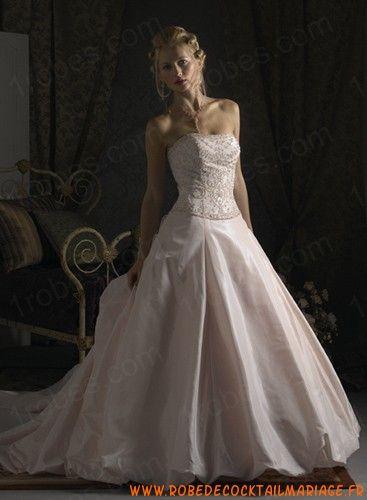 Robe De Mariée En Couleur En Solde A-Ligne (Princesse) Wc0030  Robe ...