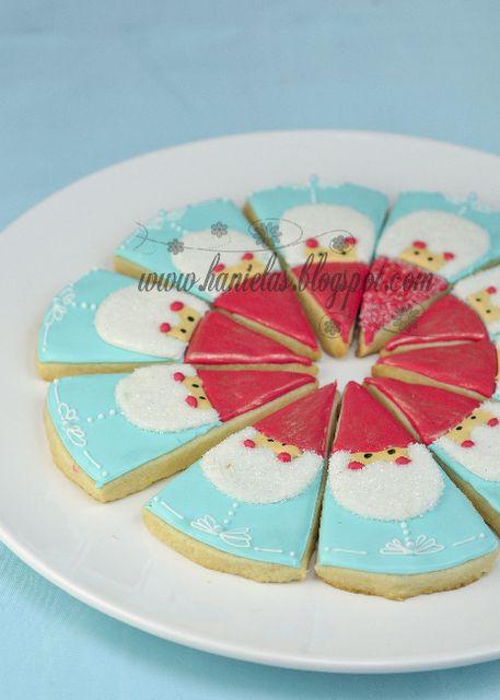 Christmas Gnome Cookies.