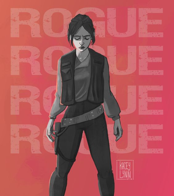 ROGUE ONE Fan Art Celebrates Everyone's Favorite New Star Wars Character | Geek and Sundry: