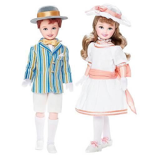 Jane and Michael dolls