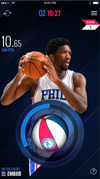 TechsNGeek News Update   The NBA is launching its own fantasy game you can play while watching live basketball  