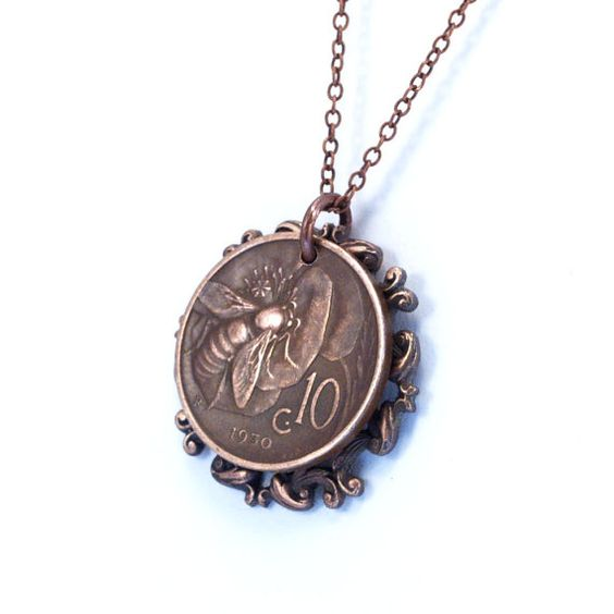 Eq coin necklace from : Benjamin franklin considers moral perfection