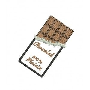 Motif de broderie machine tablette de chocolat broderie machine pinterest produits et - Emballage tablette chocolat a imprimer gratuit ...