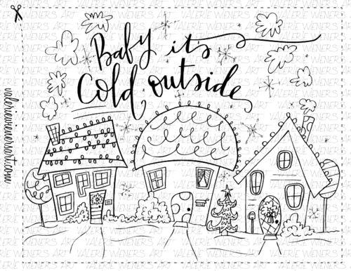 Check out my shop at valeriewienersart.com   #valeriewienersart #coloringpage #coloringpages #classroom #homeschool #instantprintable #christmascoloringpage #christmascoloringsheet #handlettering #handletteredart #homedecor #calligraphy  #creativelettering #handmade #digitalprint #christmasfun #christmascoloringbook #wintercoloringbook #babyitscoldoutside #christmas #christmastime #snow #christmassnow