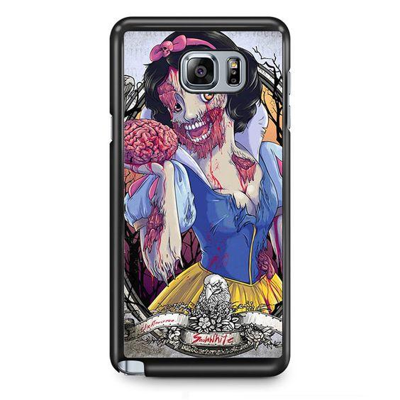 Snow White Zombie TATUM-9799 Samsung Phonecase Cover Samsung Galaxy Note 2 Note 3 Note 4 Note 5 Note Edge