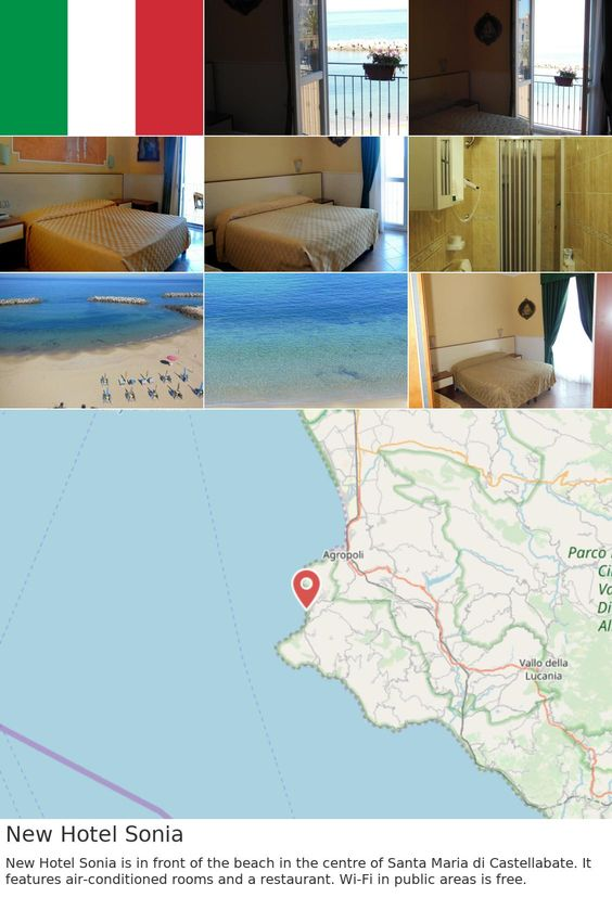 Europe Italy Castellabate New Hotel Sonia New Hotel Sonia Is In Front Of The Beach In The Centre Of Santa Maria Di Castellabate It Features Air Conditioned