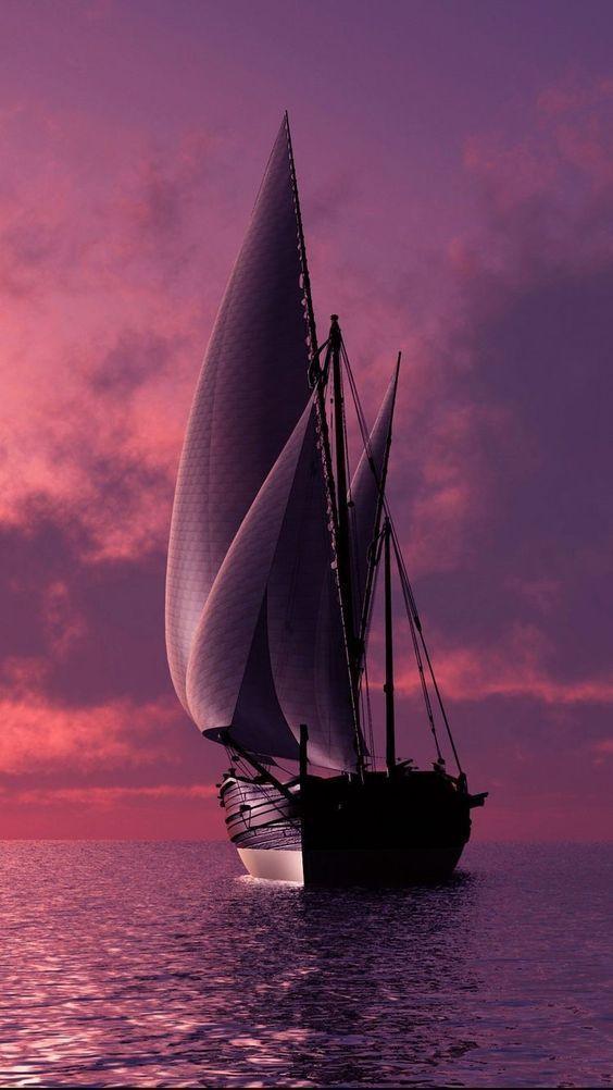 Wallpaper Of Boat And Yacht Sailing At Ocean Sea Wallpaper Boat