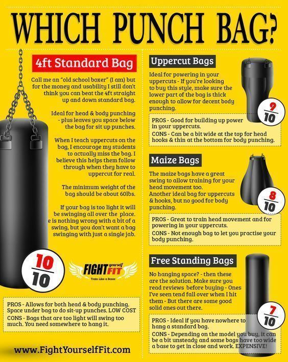 Which Punching Bag Proboxing Com Learn Boxing Boxing Punching Bag Punching Bag Workout