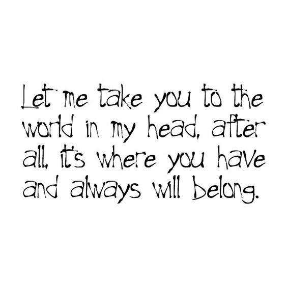 Quotes @echolily, found on #polyvore.