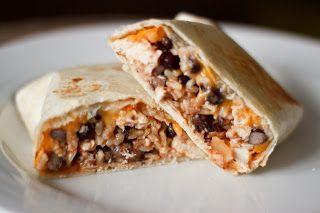 Elizabeth Lou & Company: Southwest Chicken and Rice Burritos