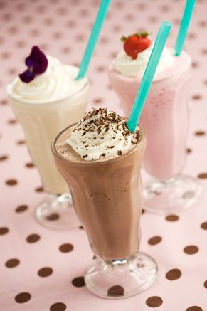 Vanilla Milkshake Ingredients : 8 tablespoons sugar 2 teaspoon vanilla extract 4 cups vanilla ice cream 2 cups milk, less for thicker milkshakes Directions Using a blender or milkshake machine, blend all ingredients together until smooth. Serve in tall glasses with a straw
