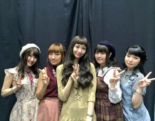 高垣彩陽さんと戸松遥さんと竹達彩奈さんと伊藤かな恵さんと日高里菜さん