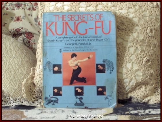 SECRETS OF KUNG FU Book Martial Arts 1984 http://ajunkeeshoppe.blogspot.com/  HP517