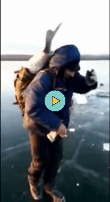 Nem ta aguentando o peixe.