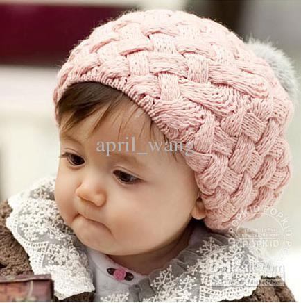 Knitting Patterns For Baby Girl Bonnets : Kids hats, Baby hat patterns and Patterns on Pinterest