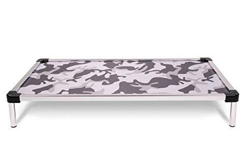 K9 Ballistics Chew Proof Elevated Dog Bed Chewproof All Aluminum Indoor Outdoor Ripstop Ballistic Fabri Elevated Dog Bed Indestructable Dog Bed Dog Bed